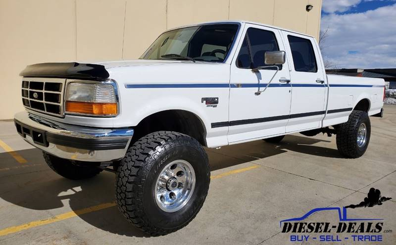 1997 Ford F-350 for sale at DIESEL DEALS in Salt Lake City UT