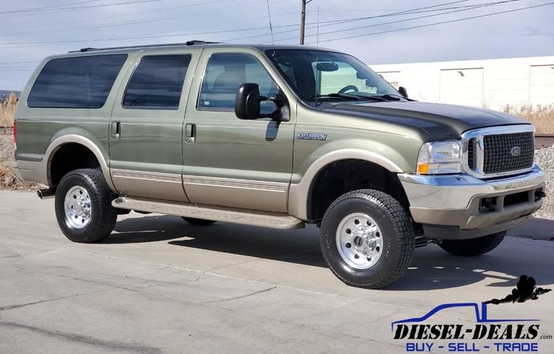 2000 Ford Excursion for sale at DIESEL DEALS in Salt Lake City UT