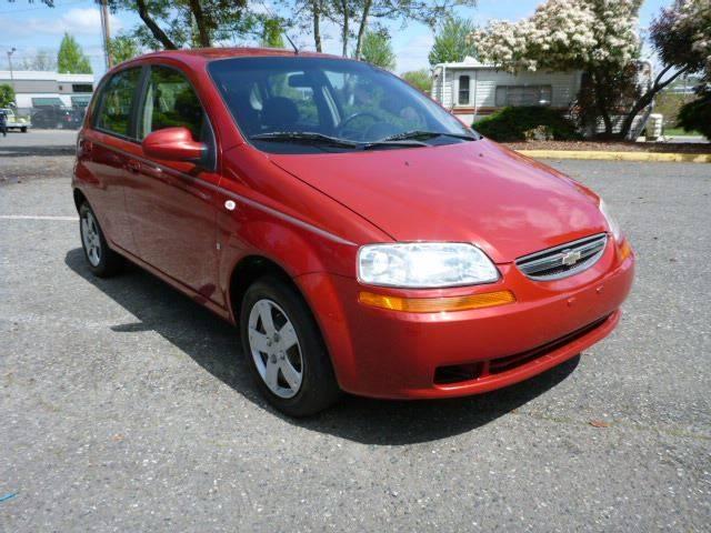 2008 Chevrolet Aveo Aveo5 Ls 4dr Hatchback In Renton Wa Precision