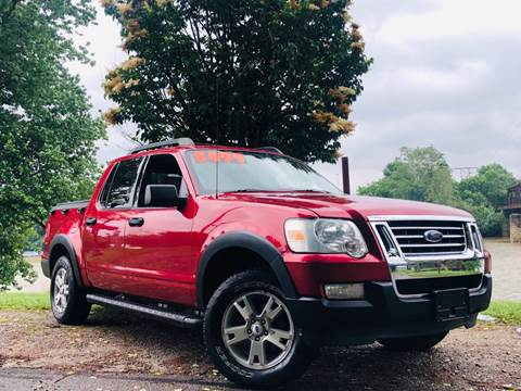 2007 Ford Explorer Sport Trac for sale at PUTNAM AUTO SALES INC in Marietta OH