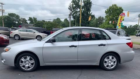 2008 Subaru Impreza for sale at PUTNAM AUTO SALES INC in Marietta OH