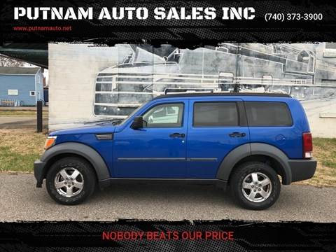 2007 Dodge Nitro for sale at PUTNAM AUTO SALES INC in Marietta OH
