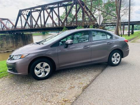 2013 Honda Civic for sale at PUTNAM AUTO SALES INC in Marietta OH