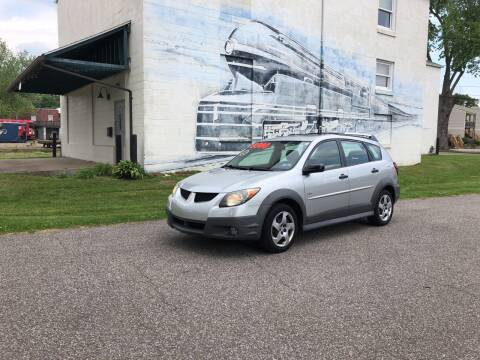 2004 Pontiac Vibe for sale at PUTNAM AUTO SALES INC in Marietta OH