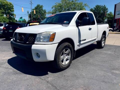 2006 Nissan Titan for sale at PUTNAM AUTO SALES INC in Marietta OH