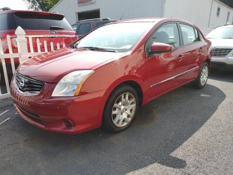 2012 Nissan Sentra for sale at PUTNAM AUTO SALES INC in Marietta OH