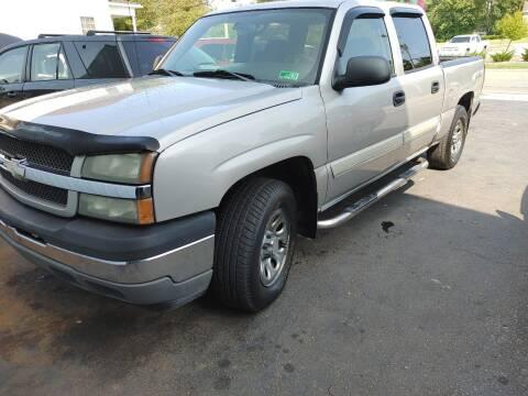 2005 Chevrolet Silverado 1500 for sale at PUTNAM AUTO SALES INC in Marietta OH
