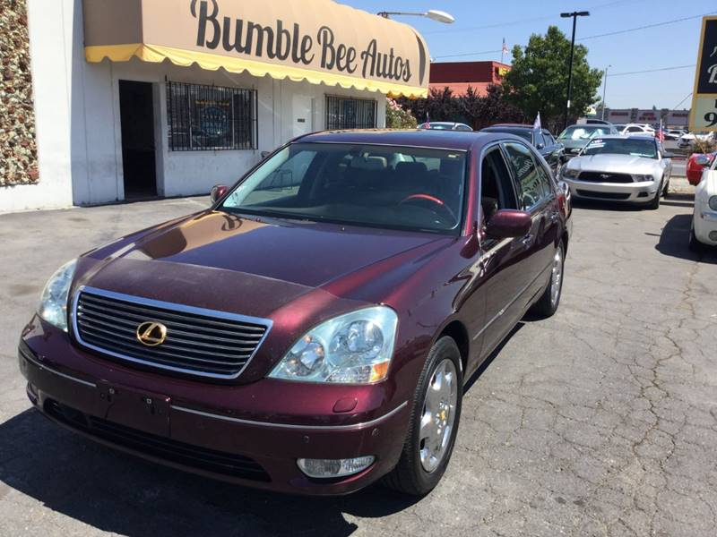 2002 Lexus LS 430 For Sale At Bumble Bee Autos In Sacramento CA