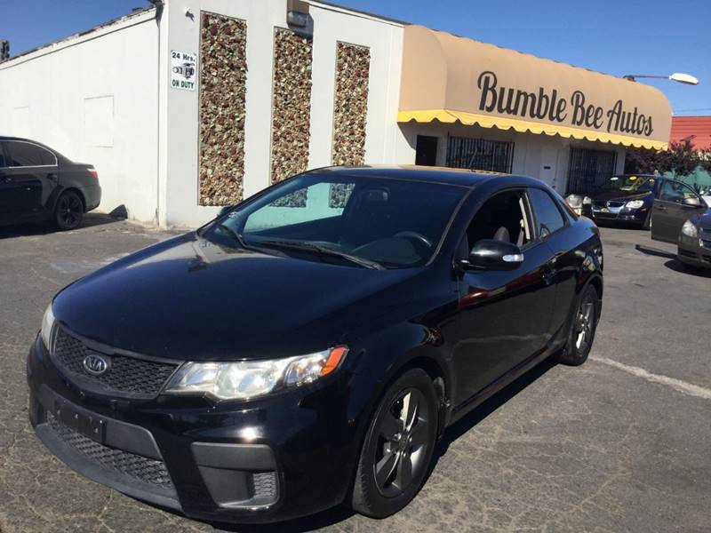2010 Kia Forte Koup For Sale At Bumble Bee Autos In Sacramento CA