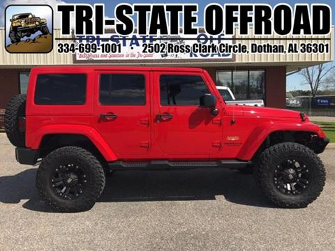 2015 Jeep Wrangler Unlimited for sale at Mike Schmitz Automotive Group - Tri-Stateoffroad.net in Dothan AL