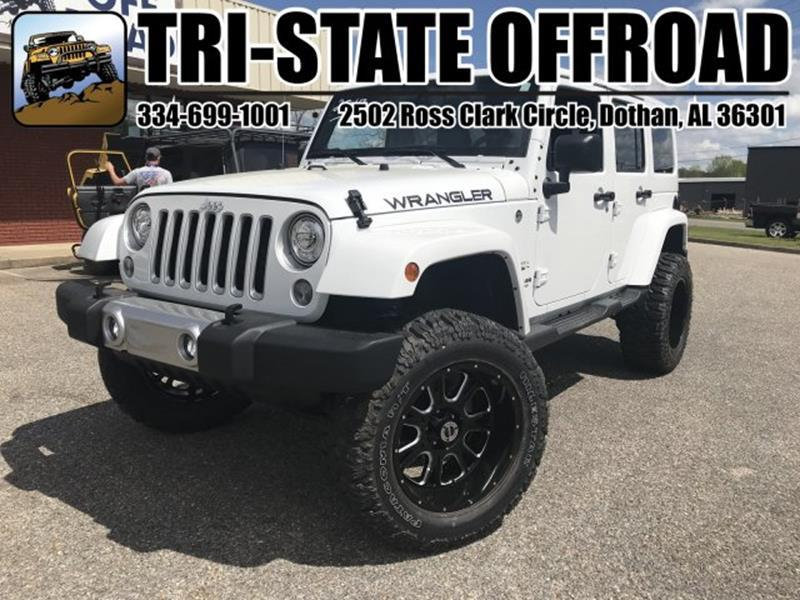 2017 Jeep Wrangler Unlimited for sale at Mike Schmitz Automotive Group - Tri-Stateoffroad.net in Dothan AL