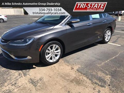 2017 Chrysler 200 for sale at Mike Schmitz Automotive Group - Tristate Quality Cars in Dothan AL