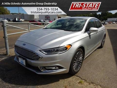 2017 Ford Fusion Hybrid for sale at Mike Schmitz Automotive Group - Tristate Quality Cars in Dothan AL
