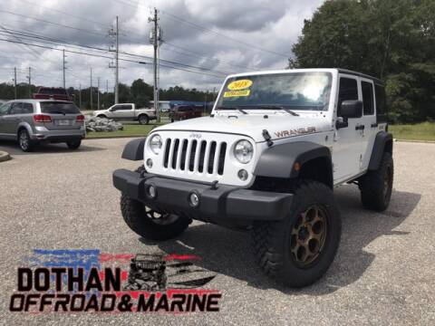 2018 Jeep Wrangler JK Unlimited for sale at Mike Schmitz Automotive Group in Dothan AL