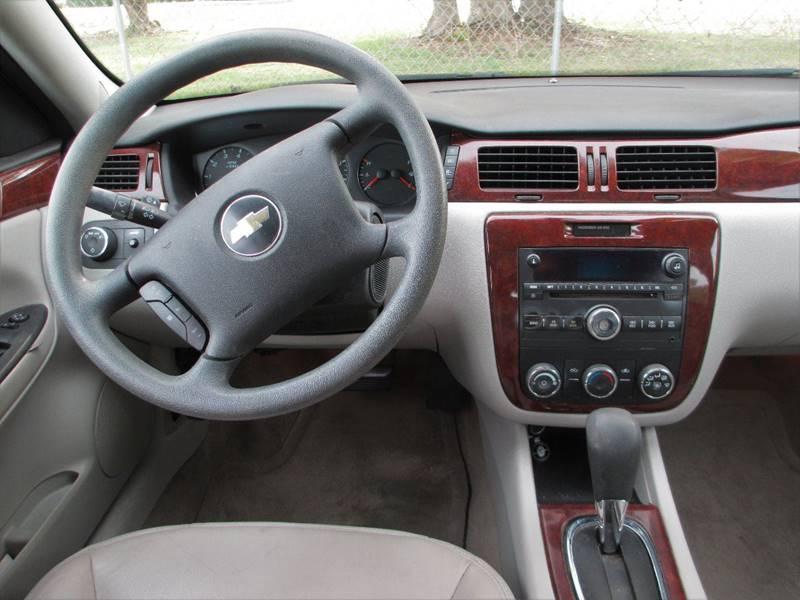 2008 Chevrolet Impala LS 4dr Sedan w/ roof rail curtain delete - Mount Dora FL