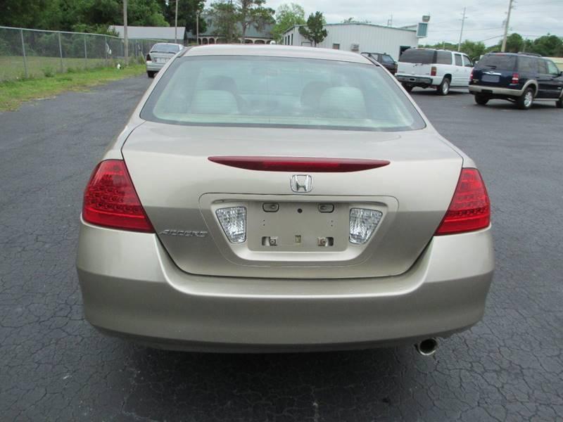 2006 Honda Accord LX 4dr Sedan 5A - Mount Dora FL