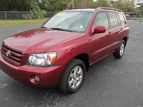 2007 Toyota Highlander for sale in Mount Dora, FL