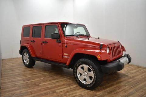 2010 Jeep Wrangler Unlimited for sale in Grand Rapids, MI