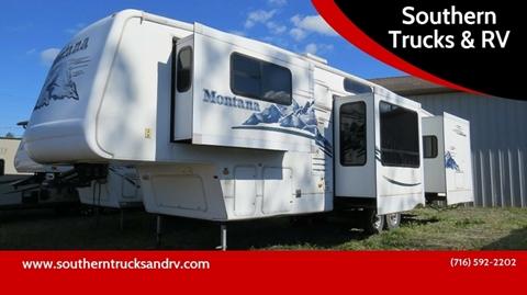 2006 Keystone Montana 3685FL - 38' 4 Slide for sale in Springville, NY