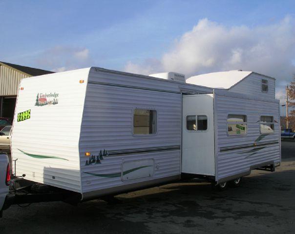 2003 timberlodge sky 33 loft trailer bunkhouse in for Loft rv