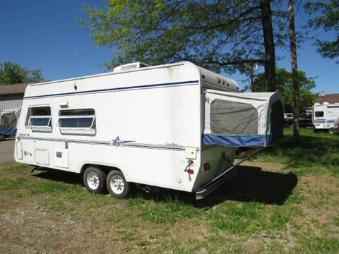 2000 starcraft 21 39 hybrid travel trailer springville ny. Black Bedroom Furniture Sets. Home Design Ideas