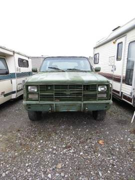 1985 Chevrolet Blazer