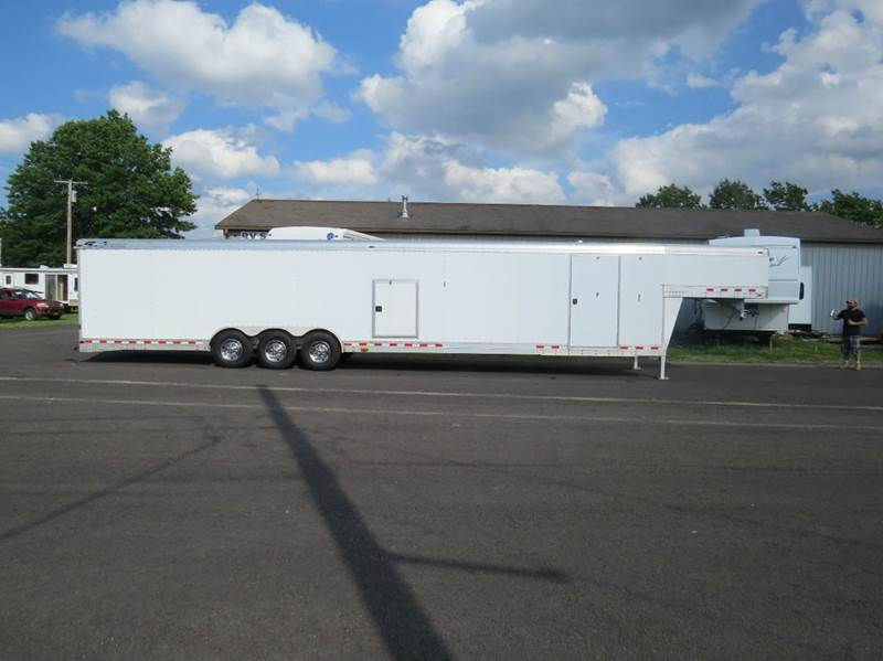 2007 Four Star 45' Enclosed Two Car 21,000 GVW - Springville NY