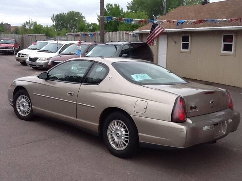 2002 Chevrolet Monte Carlo LS 2dr Coupe - Sioux Falls SD