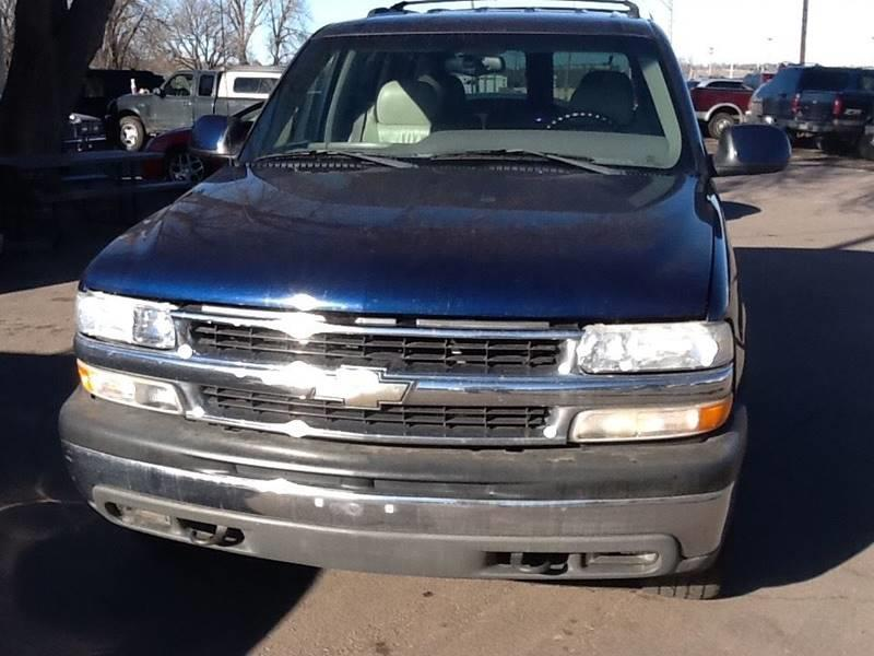 2001 Chevrolet Tahoe LT 4WD 4dr SUV - Sioux Falls SD