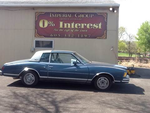 1978 Chevrolet Monte Carlo for sale at Imperial Group in Sioux Falls SD