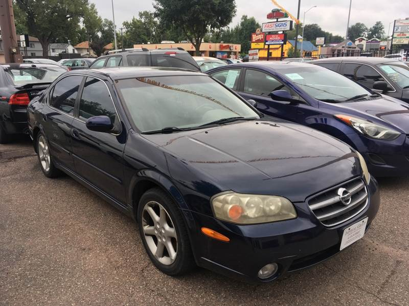 2002 Nissan Maxima Gle 4dr Sedan In Sioux Falls Sd Imperial Group
