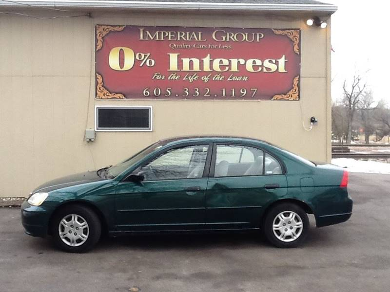 2001 Honda Civic LX 4dr Sedan - Sioux Falls SD