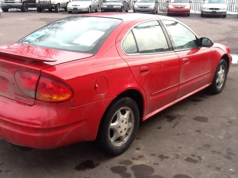 2002 Oldsmobile Alero GL 4dr Sedan w/1SA - Sioux Falls SD