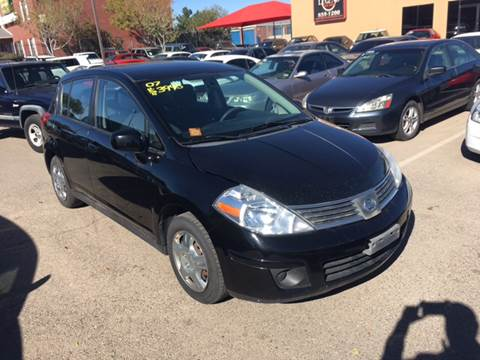 2007 Nissan Versa for sale at Legend Auto Sales in El Paso TX