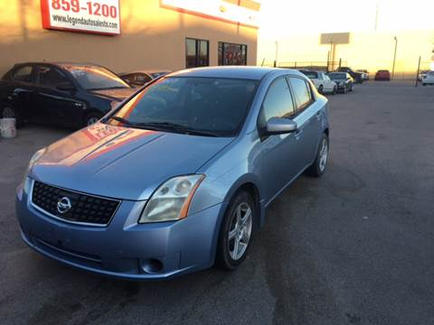 2009 Nissan Sentra for sale at Legend Auto Sales in El Paso TX