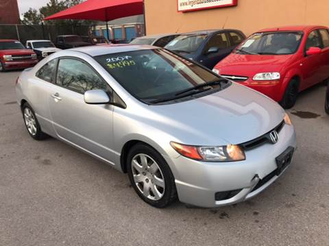 2007 Honda Civic for sale at Legend Auto Sales in El Paso TX