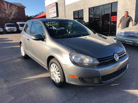 2011 Volkswagen Golf for sale at Legend Auto Sales in El Paso TX