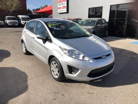2013 Ford Fiesta for sale at Legend Auto Sales in El Paso TX