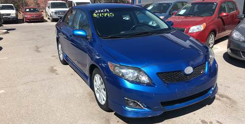 2009 Toyota Corolla for sale at Legend Auto Sales in El Paso TX