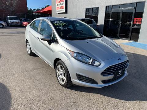 2016 Ford Fiesta for sale at Legend Auto Sales in El Paso TX