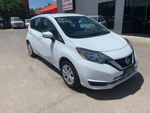 2017 Nissan Versa Note for sale at Legend Auto Sales in El Paso TX