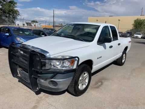 2008 Dodge Ram Pickup 1500 for sale at Legend Auto Sales in El Paso TX