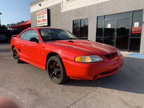 1998 Ford Mustang SVT Cobra for sale at Legend Auto Sales in El Paso TX