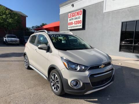 2017 Chevrolet Spark for sale at Legend Auto Sales in El Paso TX