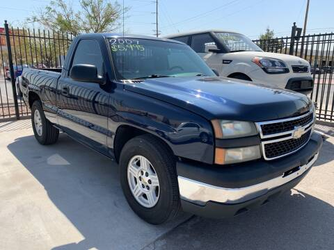 2007 Chevrolet Silverado 1500 Classic for sale at Legend Auto Sales in El Paso TX