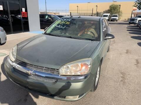 2004 Chevrolet Malibu Maxx for sale at Legend Auto Sales in El Paso TX