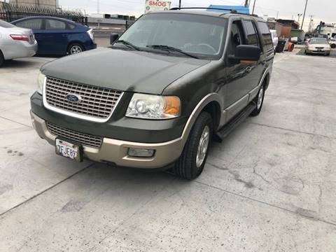 2003 Ford Expedition for sale at GreenLight  Auto Sales in Modesto CA