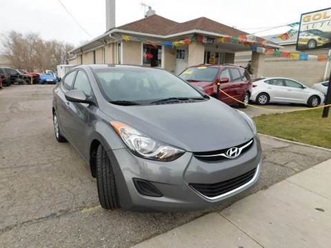 2012 Hyundai Elantra for sale at Gold Star Auto Sales in Murry UT