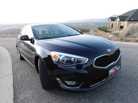 2014 Kia Cadenza for sale at Gold Star Auto Sales in Murry UT