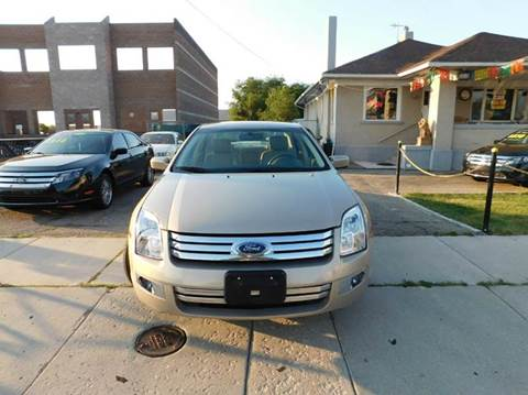 2007 Ford Fusion for sale at Gold Star Auto Sales in Murry UT